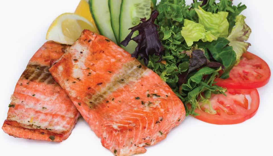 Wild Pacific Salmon - Grilled